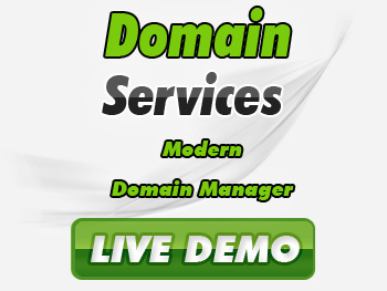 Low-cost domain registration